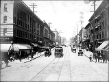 2nd Ave. from University St., ca. 1903