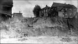 6th Ave. from Seneca St. during the Denny Hill regrade, ca. 1909