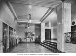 Harborview Hospital interior showing lobby, Seattle, ca. 1930