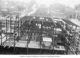 Frederick and Nelson construction, Seattle, 1950