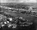 Eastlake and Lake Union from southwest, ca. 1965
