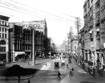 1st Ave., looking north from James St., 1900