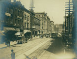 1st Ave. S. looking north from Main St., ca. 1903