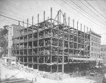 Alaska Building construction, July 19, 1904