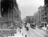 1st Ave., looking north from Cherry St., 1911