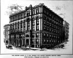 Preliminary scheme for the New York Building, 1891