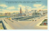 Railroad terminals showing King Street Station and Union Station, ca. 1930