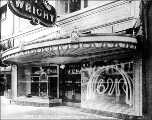 Chauncey Wright's Bakery and Restaurant exterior, 1918