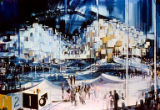 """World of Tomorrow"" exhibit, artist's rendering, Seattle World's Fair, January, 1962"