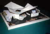 Hydro Power display, early architectural model, Seattle World's Fair, June, 1961