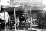 Lowman and Hanford Stationary and Printing Co. store, ca. 1885