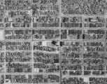 Aerial view of the University District from Roosevelt Ave. to 16th Ave, University District, ca....