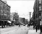 1st Ave. from University St., ca. 1906