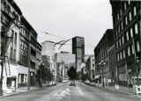 Looking north from 1st Ave. S. and Jackson St., ca. 1978