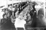 Luncheon served in milking room at the Pacific Northwest Ice Cream Manufacturers Association,...