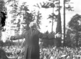 Man giving a speech, Seattle, ca. 1917-ca. 1920