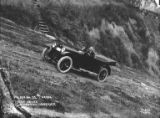 Automobile being driven on Seattle streets by D.P Dean with notes on hill inclinations, ca....