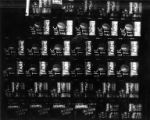 Contact sheet of the Public Market Center sign at night, Pike Place Market, Seattle, December 8,...