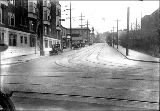 1st Ave. N., looking north from Denny Way, November 3, 1922