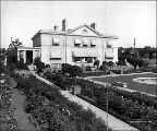 R.D. Merrill House, gardens and grounds, ca. 1913