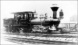 A.A. Denny, Seattle's first steam locomotive, n.d.