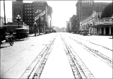 Second Ave. looking south from Lenora St., 1921