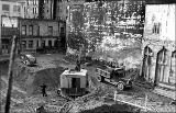 Construction at 3rd Ave. between Seneca St. and Spring St., January 24, 1940