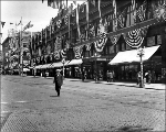 Decorations for the Seattle Potlatch Parade, ca. 1912