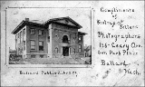 Carnegie Public Library, Ballard neighborhood, ca. 1906
