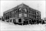 Masonic Building, corner of 2nd Ave. and Pike St., ca. 1904