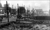 Aftermath of the Seattle fire of June 6, 1889