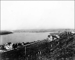 Eastlake from south Lake Union, ca. 1895