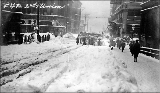 2nd Ave. and Union St. after a snowstorm, winter 1916