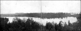 Lake Union, Montlake and the University District from Eastlake, 1909