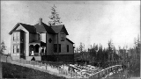 J. F. Pike Residence, 1621 1st Ave. N., looking west southwest, Seattle, ca. 1880