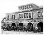 Fire Department Headquarters building, Columbia St. and 7th Ave., ca. 1900