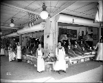 Fruit and vegetable vendors, Pike Place Market, 1917