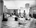 City Light Building interior, corner of 3rd Ave. and Madison St., ca. 1935-1940s