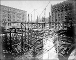 Alaska Building construction, June 28, 1904