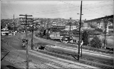 Fremont Bridge towards Fremont, looking north from Queen Anne, ca. 1935