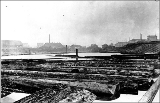Fremont Milling Co. showing logs in Lake Union in foreground, ca. 1893
