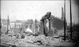 Aftermath of the Seattle fire of June 9, 1889 showing ruins of the Occidental Hotel between James...