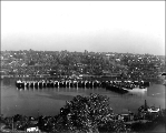 Liberty ships anchored in Lake Union, ca. 1925