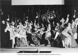 "Scene from the WPA Federal Theatre Project production ""Mother Goose"" in Seattle, 1937"