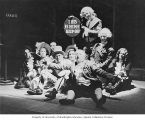 "Scene from the WPA Federal Theatre Project production ""One Third of a Nation"" in..."