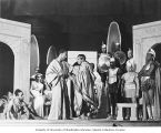 "Scene from the WPA Federal Theatre Project production ""Androcles and the Lion"" in..."