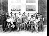Formen of the Construction Maintenance Unit, Minidoka Relocation Center, ca. 1943-1945