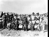 Hog Farm group, Minidoka Relocation Center, ca. 1943-1945