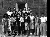 Group of Engineering Officers, Minidoka Relocation Center, ca. 1943-1945