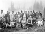 Group of Trail Blazers Club members on the Williams Lake stocking trip, July 12-13, 1958